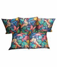 Vinayak Collection Multicolour Contemporary Cushion Cover With Filler