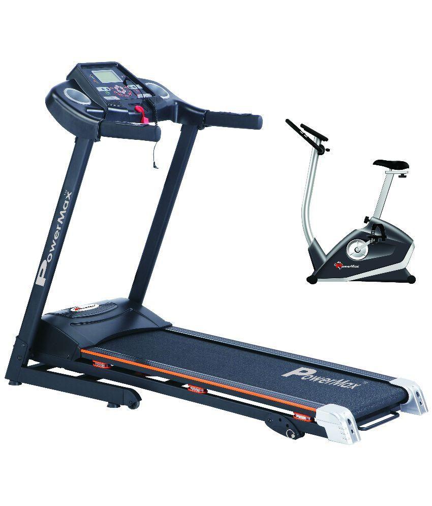 Powermax Fitness Motorized Treadmill with BU-620 Strong Upr...