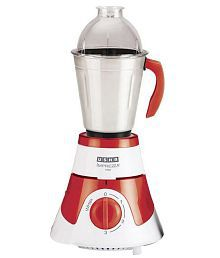 usha Usha Imprezza Mixer Grinder White and Red