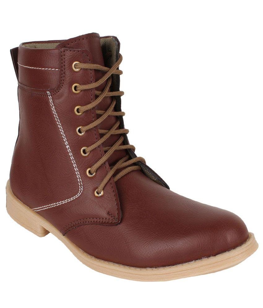 Buwch Brown Boots
