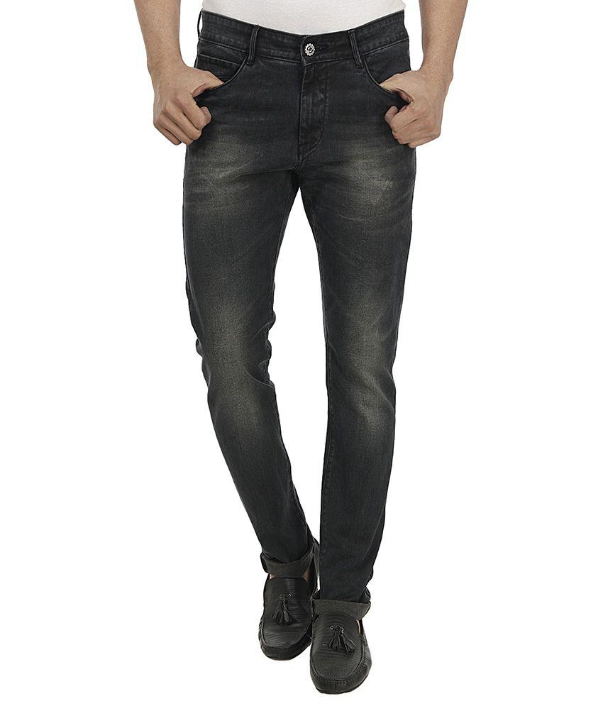 Fever Black Slim Fit Jeans