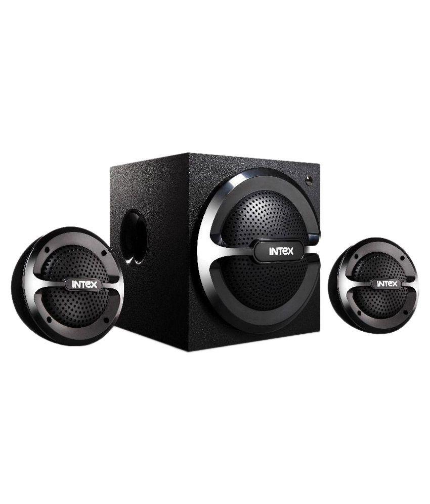 Intex IT- 2200 SUF 2.1 Computer Speakers  - Black