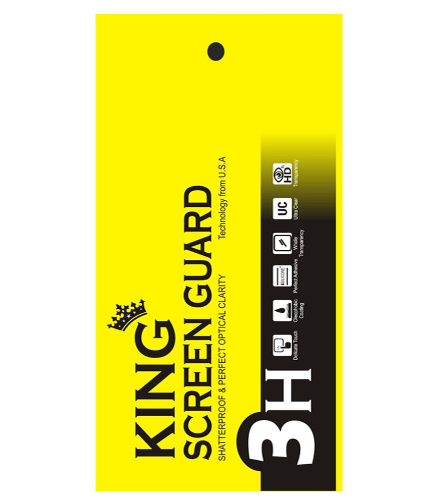 King Anti Glare Screen Guard For Samsung Galaxy Alpha - Pack Of 7