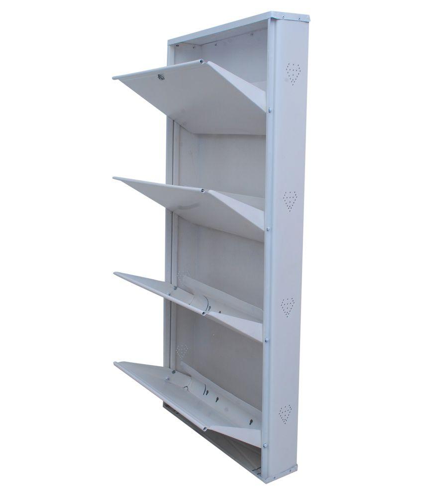 Nexon Industries White Aluminium Wall Mount Shoe