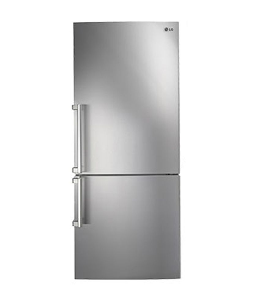 Lg 450 Ltr  Gc-b519esqz Frost Free Double Door Refrigerator Noble Steel Price In India