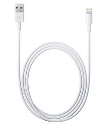 Apple Lightning To Usb Sync & Charge Cable For Apple Iphone 5, Apple Ipad Mini, Apple Ipod - White
