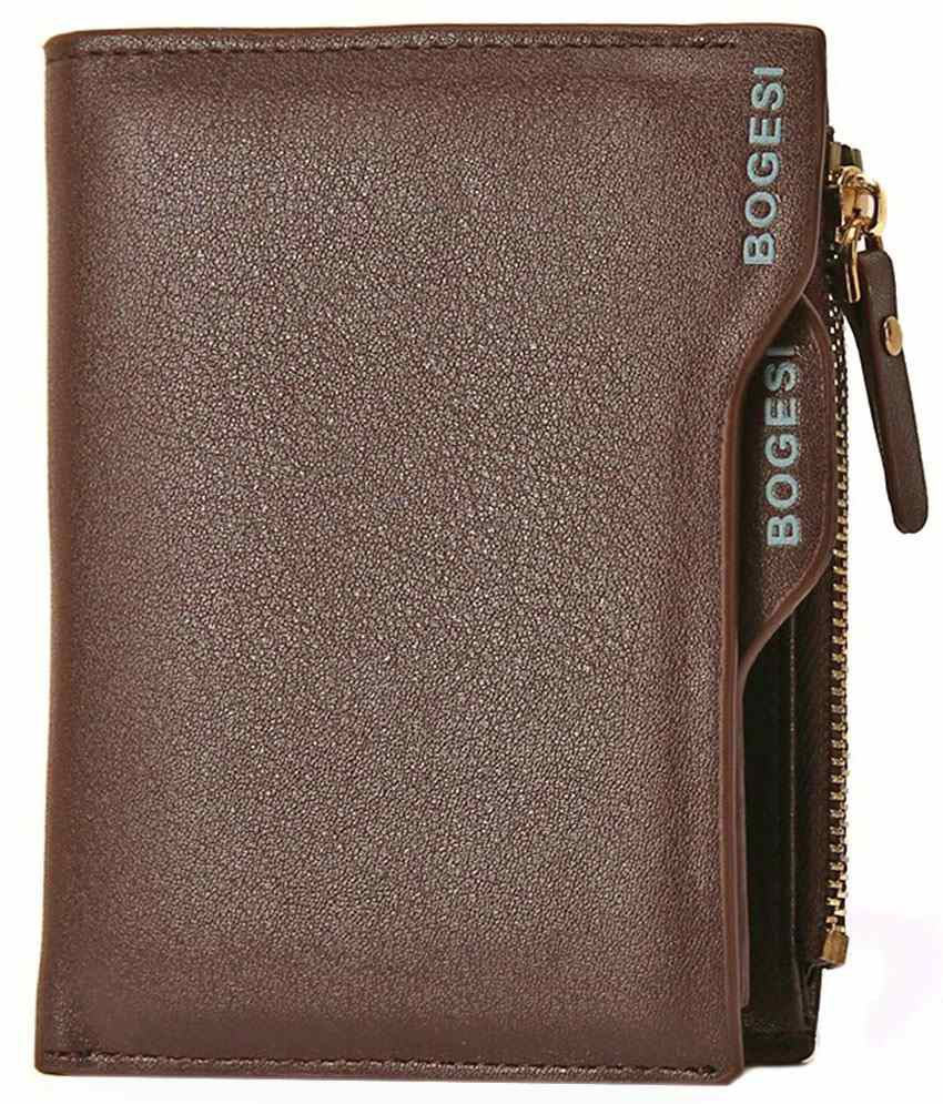 77d7c9ec78c0 Bogesi PU Brown Casual Short Wallet: Buy Online at Low Price in India -  Snapdeal