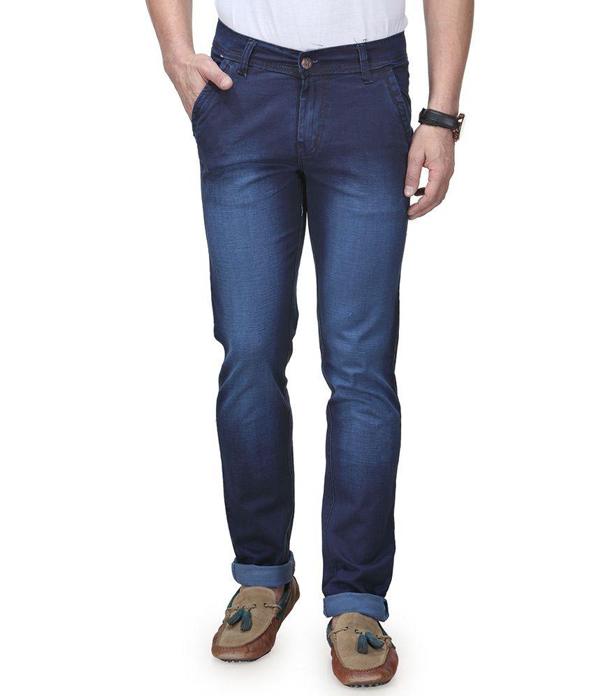 Ausy Blue Slim Fit Jeans