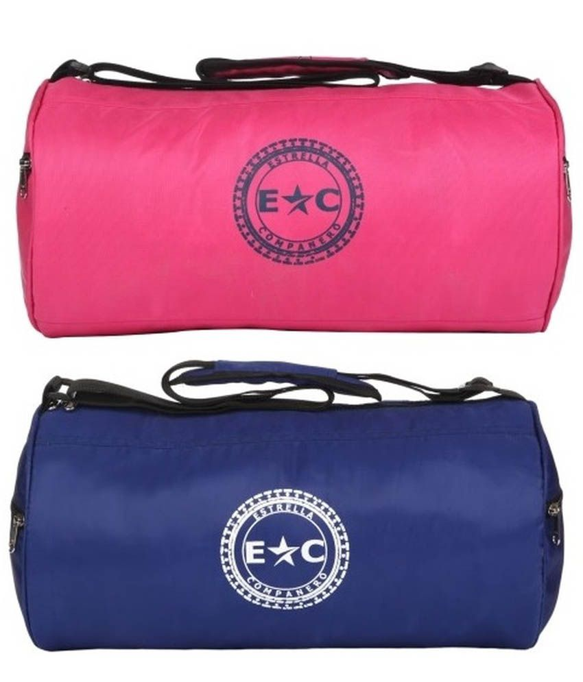 Estrella Companero Multicolour Gym Bag Combo