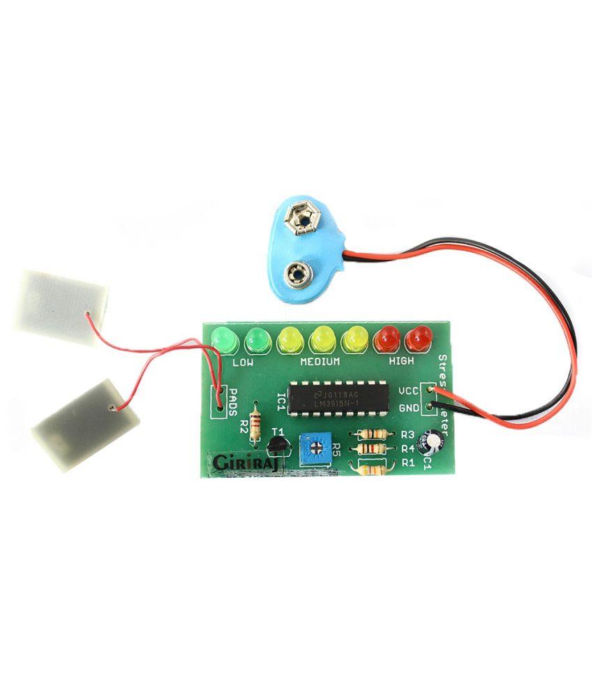 Giriraj Kits Stress Meter Kit For Laptop Buy Electronic Circuit India