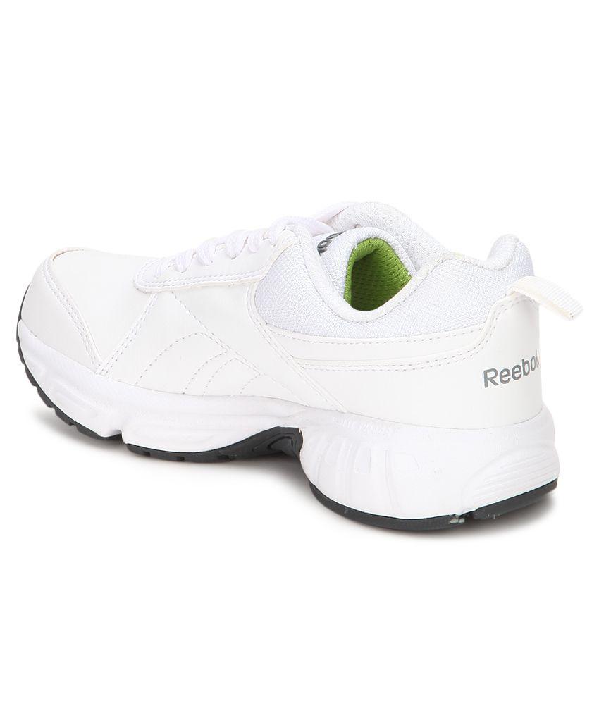 4c6f12b3aef9 Reebok School Sports Lp White Sport Shoes For Kids Price in India- Buy Reebok  School Sports Lp White Sport Shoes For Kids Online at Snapdeal