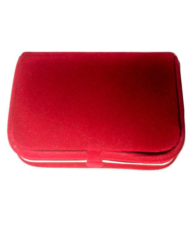 Atorakushon Earring Box Velvet Coated Jewelry Box