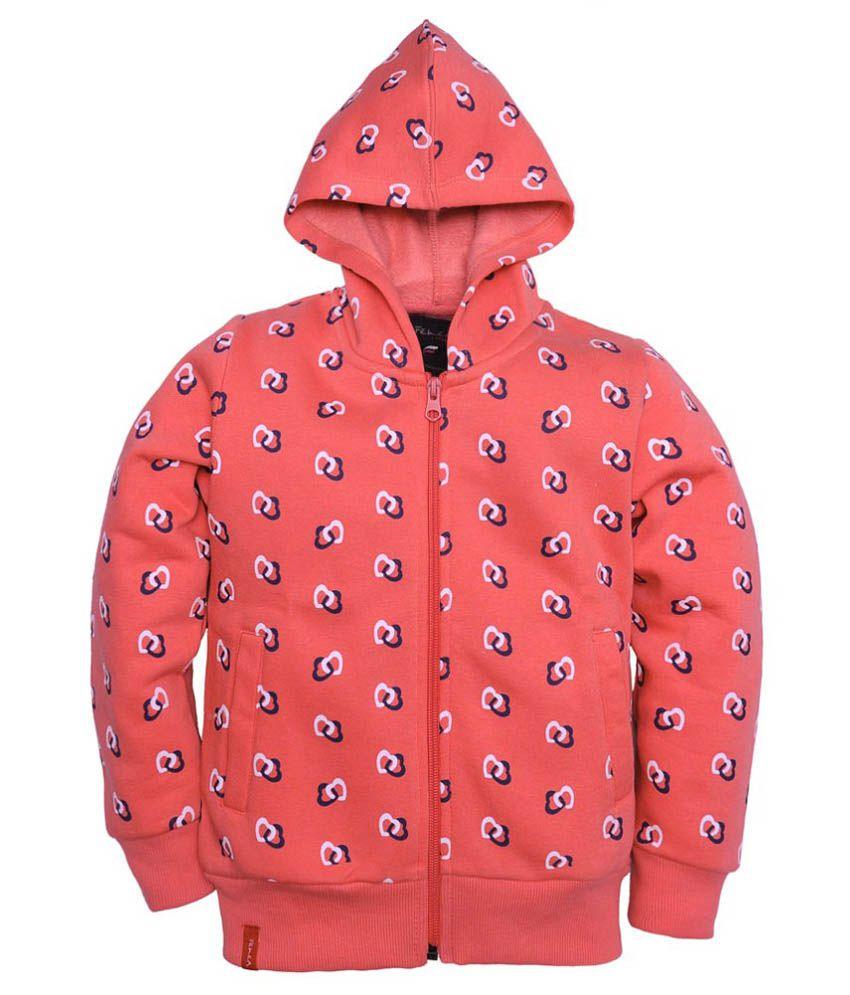 Femea Peach Fleece Sweatshirt