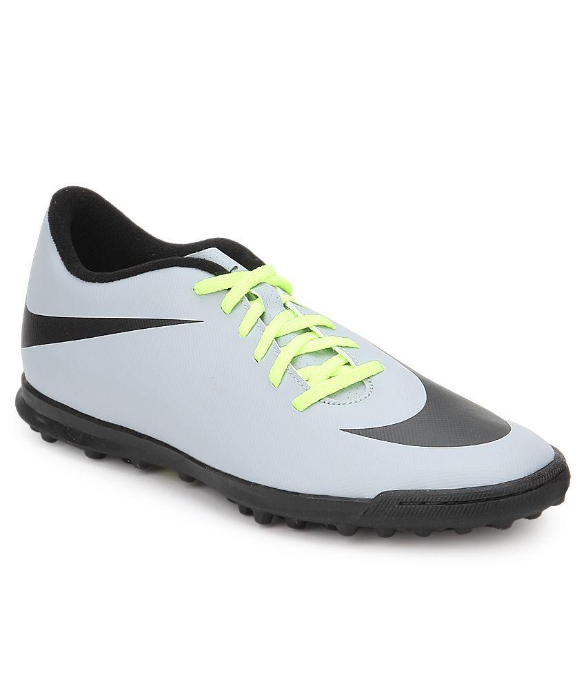 Nike Bravata Tf Gray Sport Shoes ...