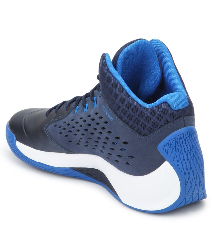 ... Nike Jordan Rising High Blue Sport Shoes ...