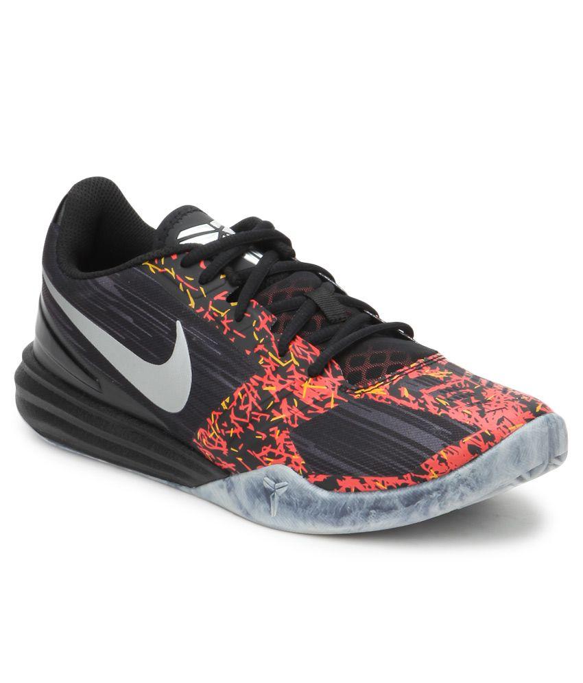 Nike Kb Mentality Black Sport Shoes