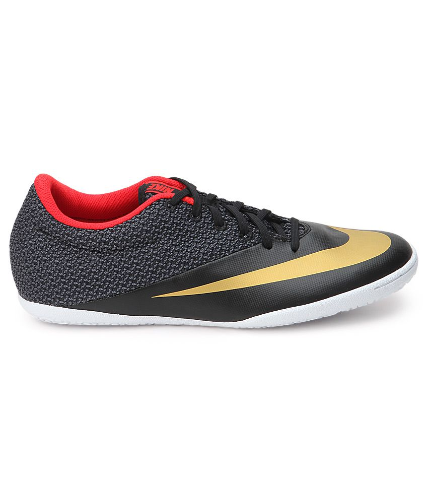 a517c9c9b Nike Mercurialx Pro Ic Black Sport Shoes - Buy Nike Mercurialx Pro Ic Black  Sport Shoes Online at Best Prices in India on Snapdeal