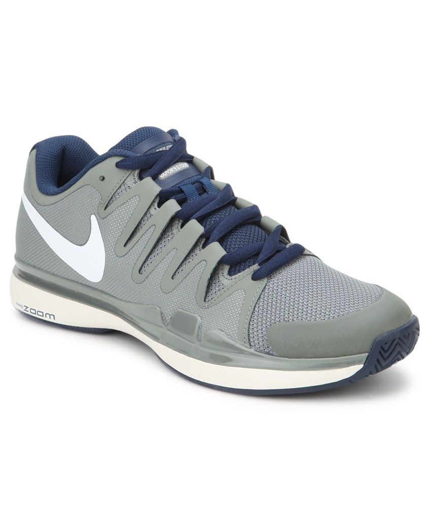 174f38ca325f5 Nike Zoom Vapor 9.5 Tour Gray Sport Shoes - Buy Nike Zoom Vapor 9.5 Tour  Gray Sport Shoes Online at Best Prices in India on Snapdeal