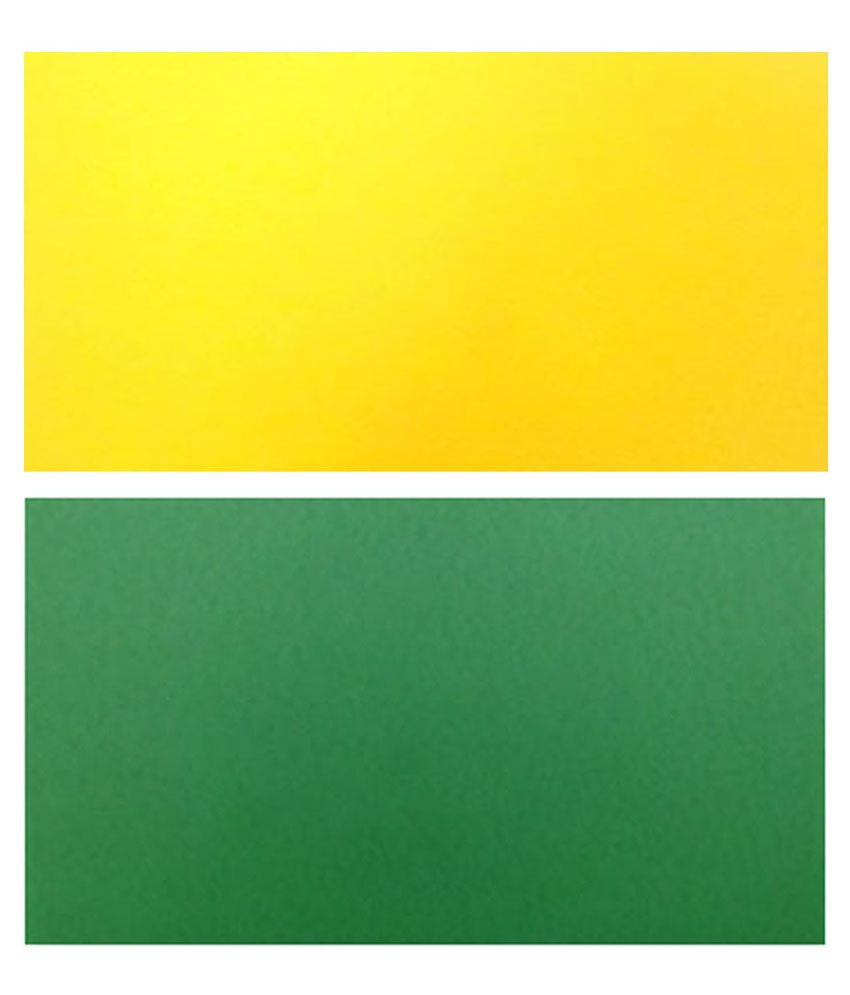 Skb Yellow Green Pastel Sheet Board Pack Of 2 Online At Best Price In India Snapdeal