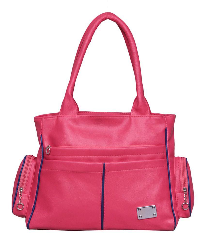 Notbad Shoulder Bag-pink