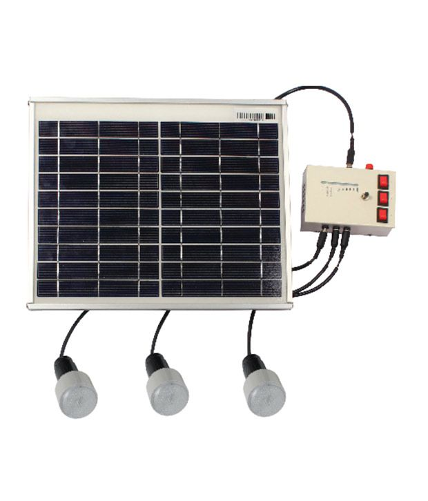 Solar Home Lighting: Kirloskar Home Lighting System Solar Light: Buy Kirloskar