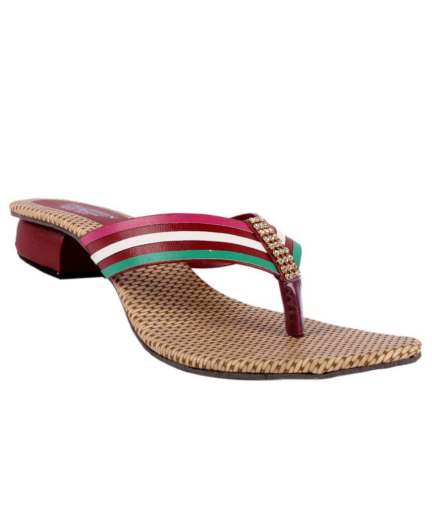 Trewfin Multicolor Flat Heels