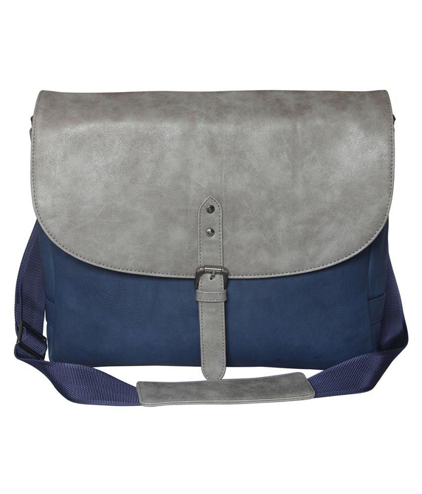 Mohawk Blue Laptop Bags