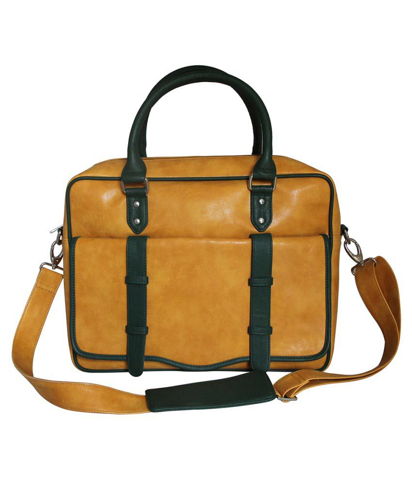Mohawk Yellow Laptop Bags