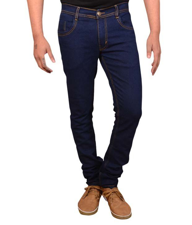 Spykon Blue Regular Fit Jeans