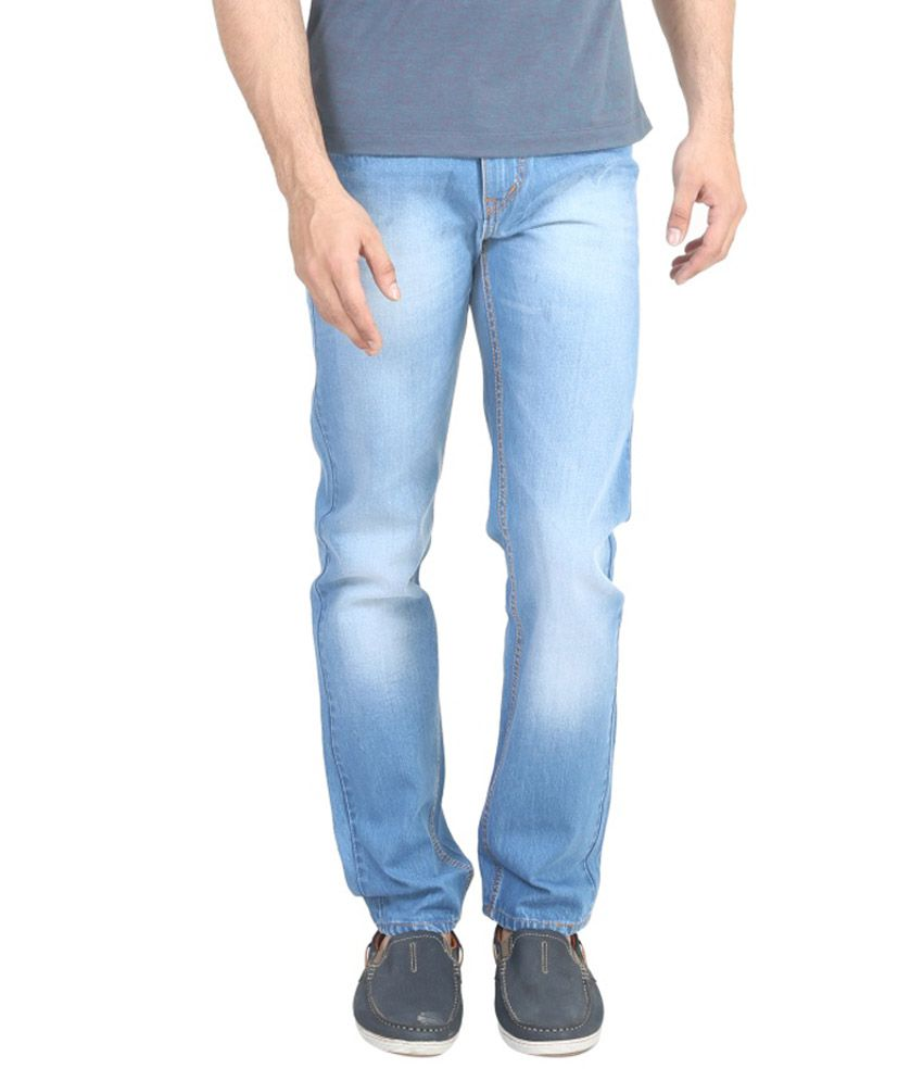 Trendy Trotters Blue Regular Fit Jeans