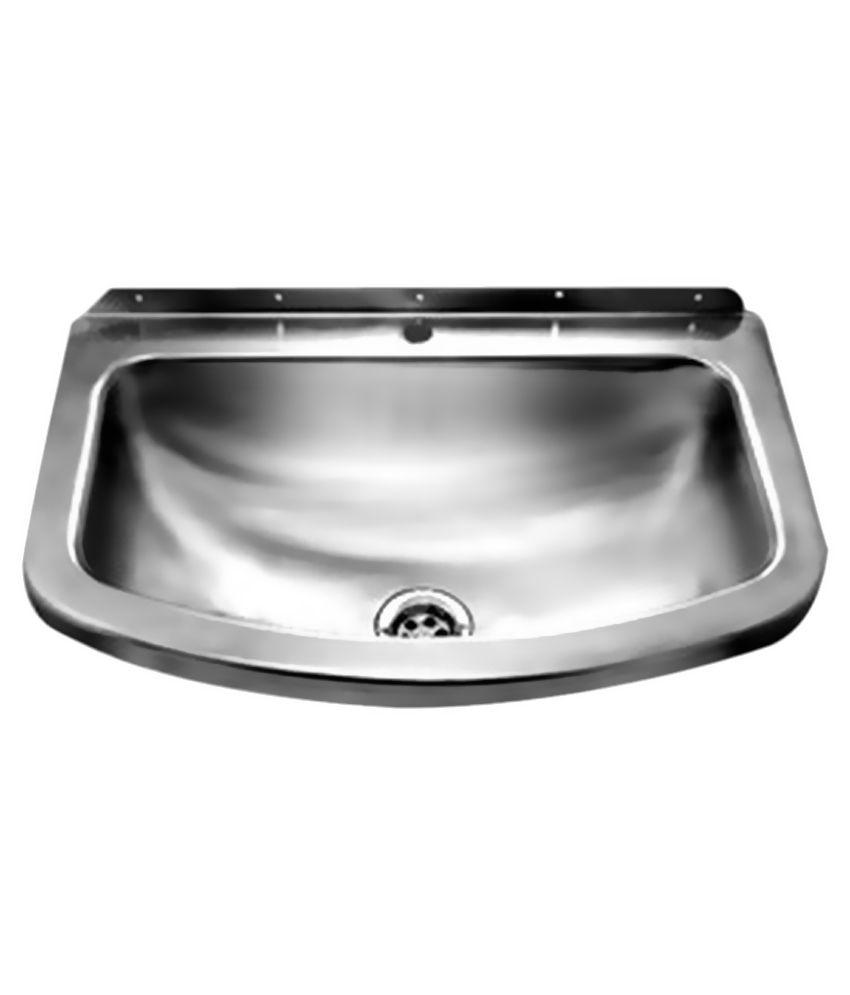 Jayna Silver Stainless Steel Wash Basin Buy