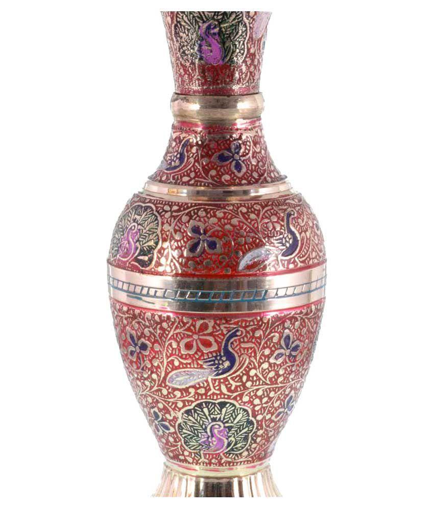 Brass Colorful Flower Vase: Buy Brass Colorful Flower Vase at Best ...
