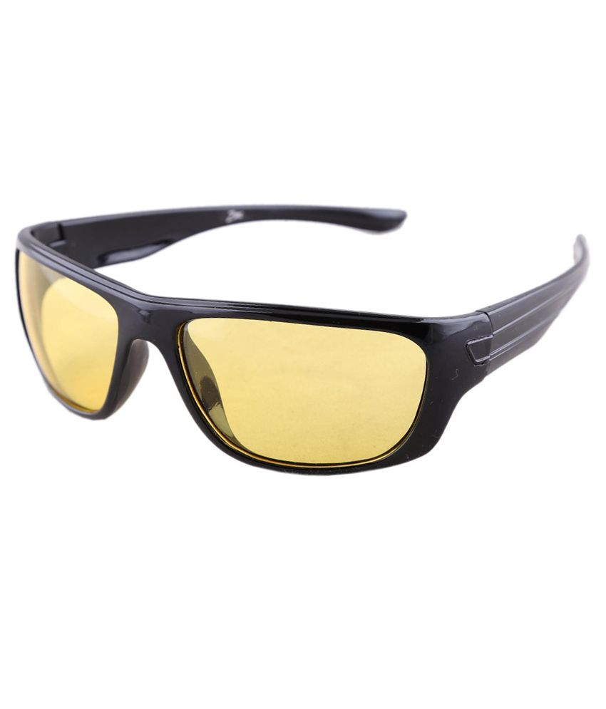 Zinc Brown Rectangle Sunglasses For Men And Women