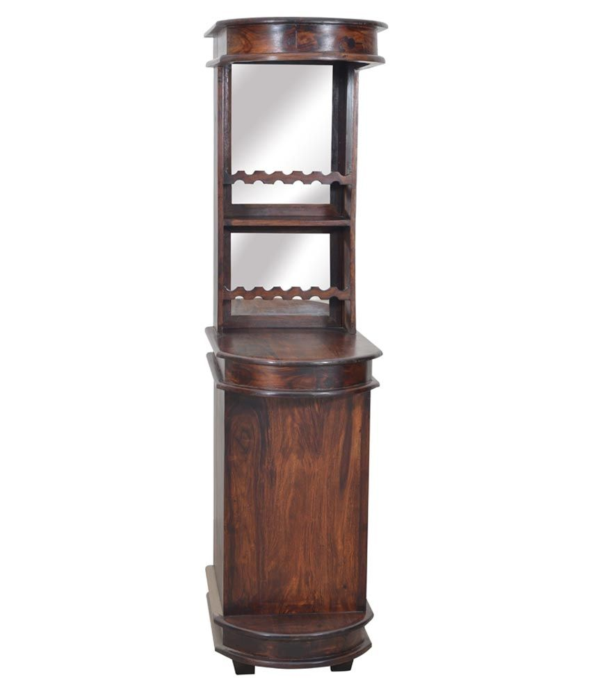 Shekhawati Solid Wood Bar Cabinet