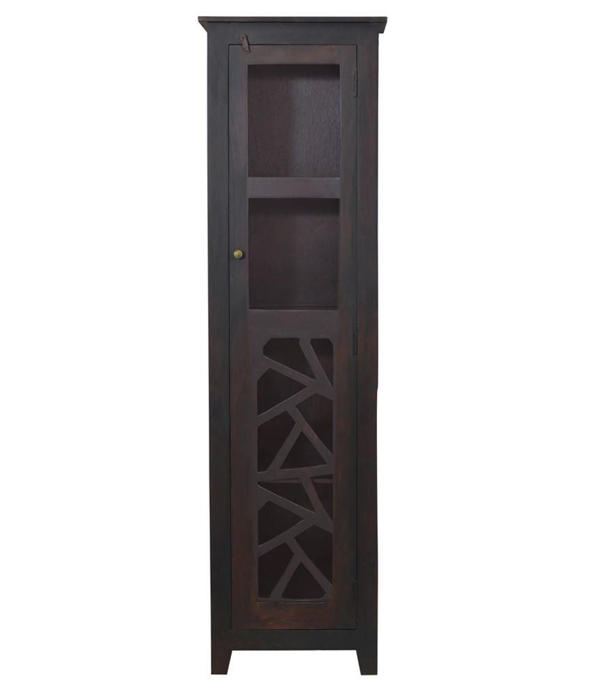 Shekhawati Solid Wood Single Door Wardrobe