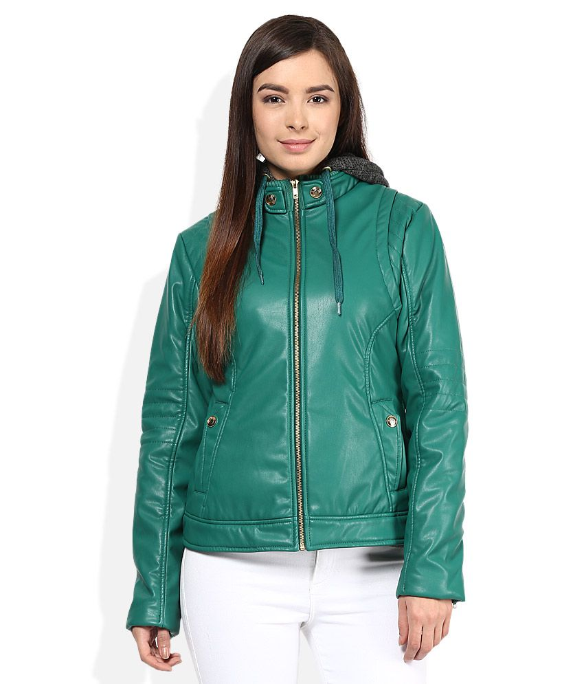 Fort Collins Green Hooded Jacket