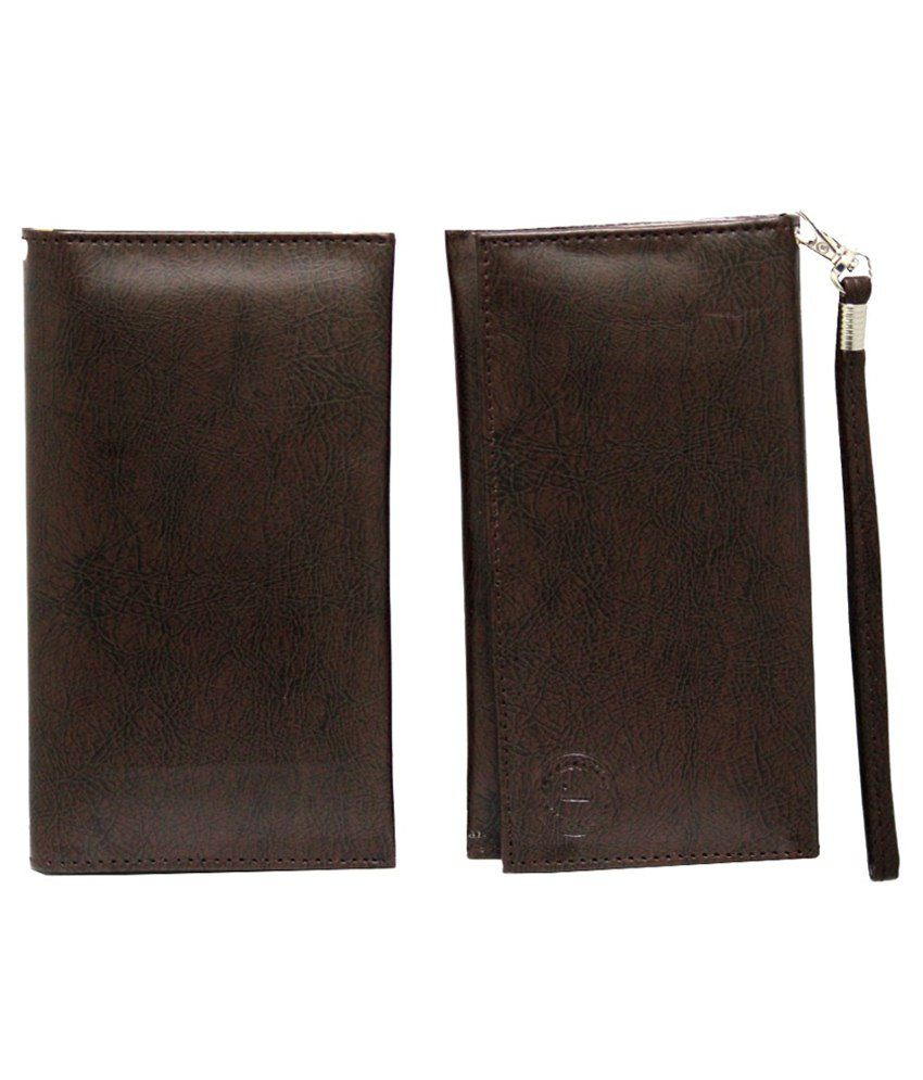 Jo Jo Pouch Wallet For Asus Pegasus X002-brown