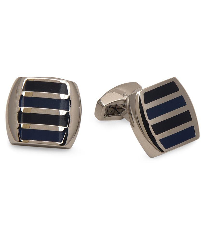 Bgs Multicolour Metal Cufflink Set