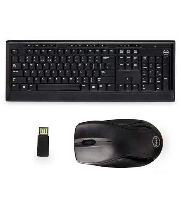 Buy Dell Km113 Wireless Keyboard And Mouse In Combo Online At Best