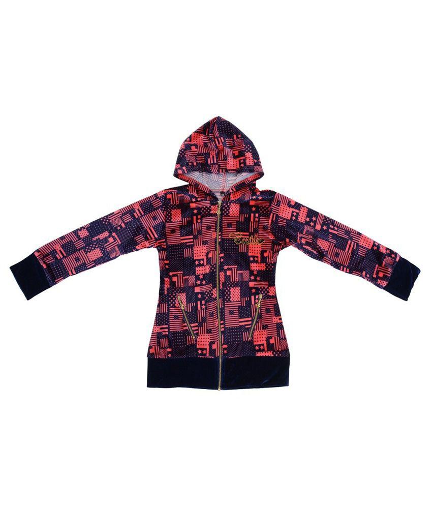 Palakh Multicolour Hooded Jacket