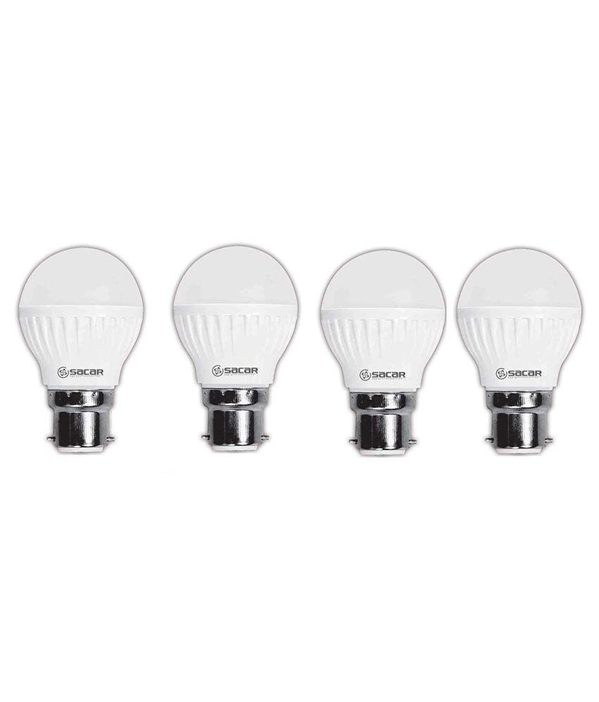 Sacar-11w-Led-Bulb-Pack-Of-4-white