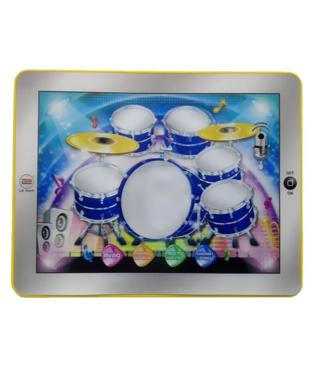 Azi Touch Pad Drum Learning Machine Multicolour