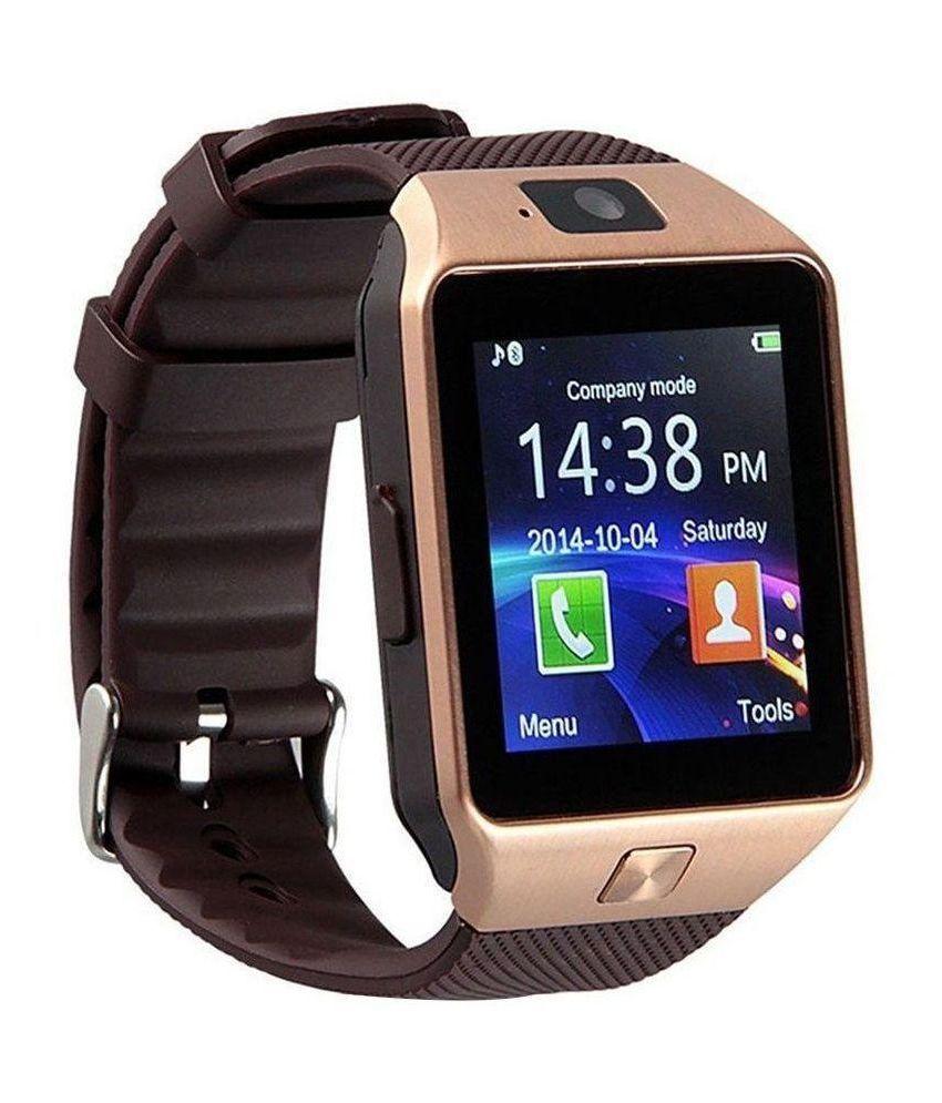 Wearable Smartwatches Online At: Bingo T30 Smart Watches Brown