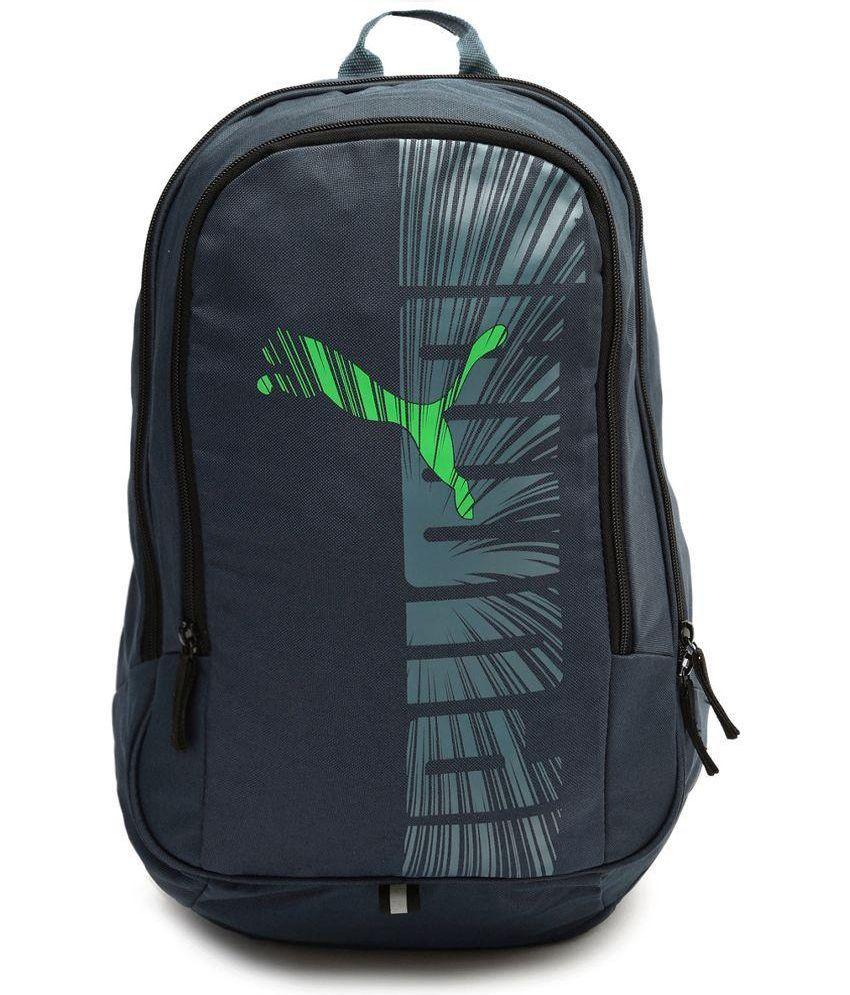 puma green backpack for men and women buy puma green