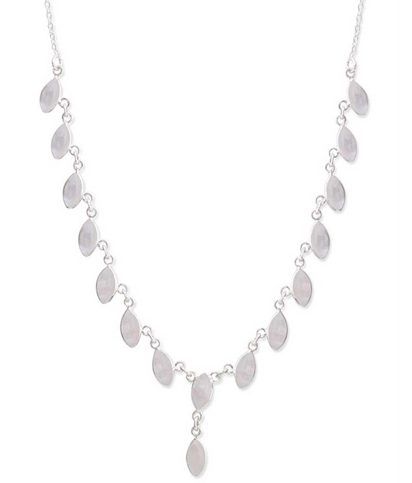 Zerokaata 92.5 Sterling Silver Necklace