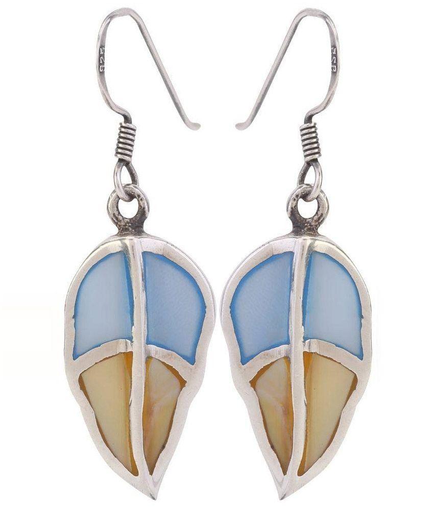 925 Silver Jewel Sterling Drop Earring