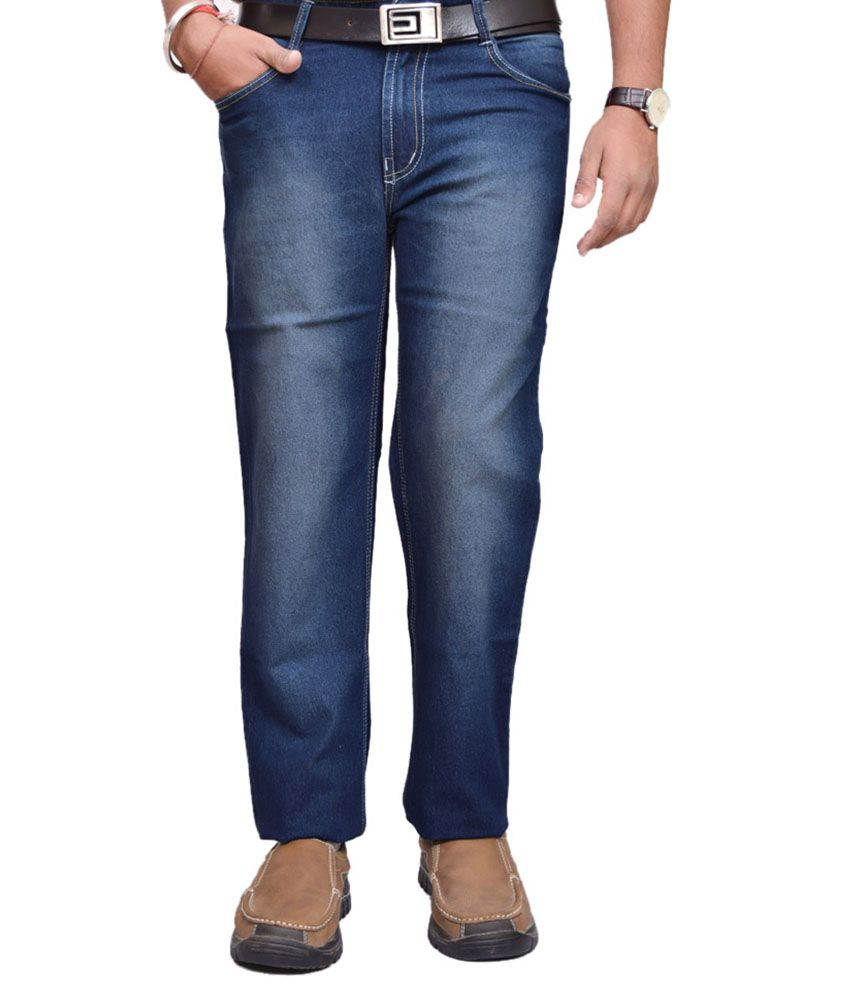 American Noti Blue Regular Fit Jeans