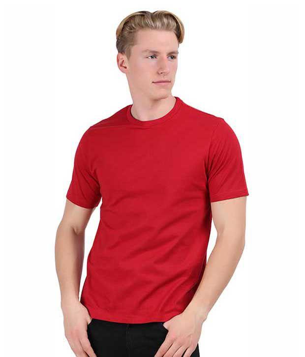 Aja Red Cotton T-shirt