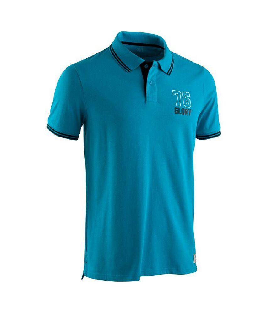 Domyos Dry Skin Polo Short-sleeve Men
