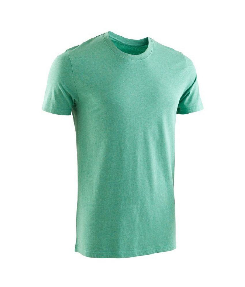 Domyos Men Yoga Short Sleeve Organic T-shirt